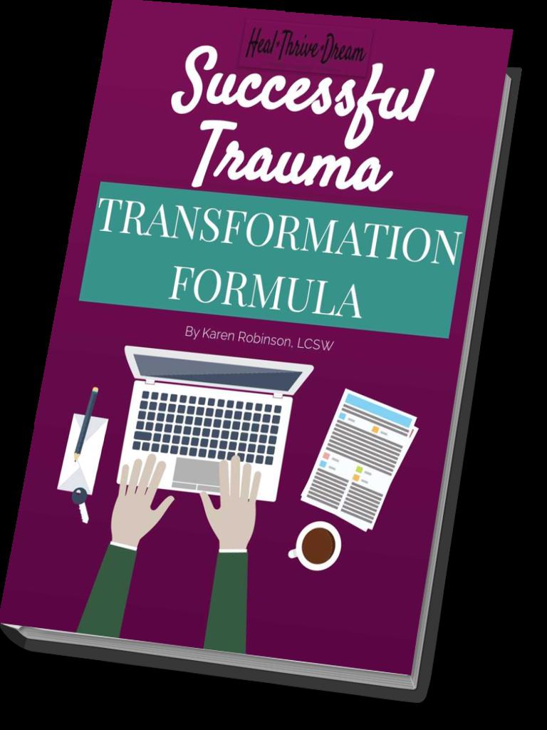 Successful Trauma Transformation ebook mockup